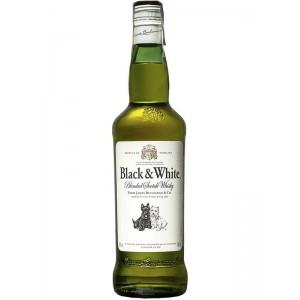 Виски Шотландии Black&White 3 ео / Блэк энд Уайт 3 ео, 0.7 л [50196135]