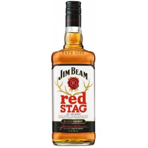 Бурбон США Jim Beam Red Stag Cherry / Джим Бим Ред Стаг Черри, 1 л [5060045582461]