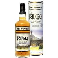 Виски BenRiach, 40%, 0.7 лв тубусе [5060088790229]
