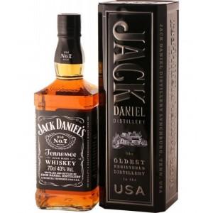 Бурбон США Jack Daniel's Old No.7 / Джек Дэниэлс, 0.7 л (металлическая уп.) [5099873090473]