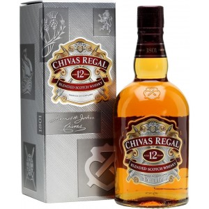 Виски Шотландии Chivas Regal 12 yo / Чивас Ригал 12 ео 0.7 л (под.уп.) [080432402931]