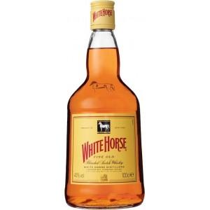 Виски Шотландии White Horse 4 yo / Уайт Хорм 4 ео, 1 л (под.уп.) [5000265090056]