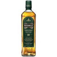 Виски Ирландии Bushmills Single Malt 10 yo / Бушмилс Сингл Молт 10 eo, 0.7 л [5010103917803]