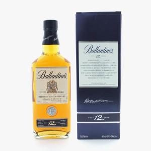 Виски Шотландии Ballantine's Finest, 12 yo / Баллантайнс Файнест 12 ео, 0.7 л [5010106110232]