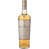 Виски Шотландии Macallan Fine Oak 12 YO / Макаллан Файн Оак 12 EO, 0.7 л [5010314048907]