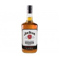 Виски США Jim Beam White / Джим Бим Уайт, 40%, 1.5 л [5010196091268]
