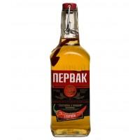 Водка Украины Первак Перцовая с медом, 40%, 0.5 л [4820163121253]