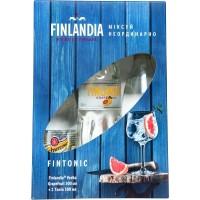 Водка Финляндии Finlandia Grapefruit / Финляндия Грейпфрут, 37.5%, 0.5 л + Schweppes / Швеппс, 0.5 л[5099873709184]