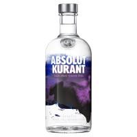 Водка Швеции Absolut Kurаnt, 40%, 0.7 л [7312040020706]
