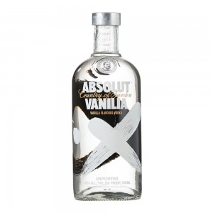 Водка Швеции Absolut Vanilla, 40%, 0.7 л [7312040060702]