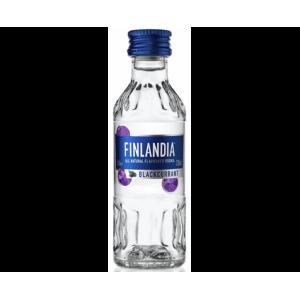 Водка Финляндии Finlandia, Blackcurrant / Финляндия Черная смородина, 40%, 0.05 л [5099873001882]