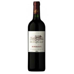 Вино Франции MiquauBordeaux / Мику Бордо, Кр, Сух, 0.75 л [3491871013621]