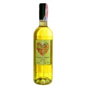 Вино Испании Сorazon de Longares Macabeo / Коразон де Лонгарес Макабео, Бел, П/сл, 0.75 л [8424659105312]