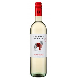 Вино Италии Tussock Jumper Pinot Grigio / Тассэк Джампер Пино Гриджо, Бел, Сух, 0.75 л [3760204540197]