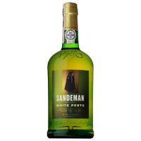 Вино Португалии Sandeman Уайт Sogrape Vinhos крепленое портвейн, 19.5%, Бел, 0.75 л [5601083641101]