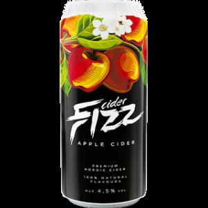 Сидр Fizz Apple / Физз Яблоко, ж/б, 4%, 0.5 л [4740098084440]