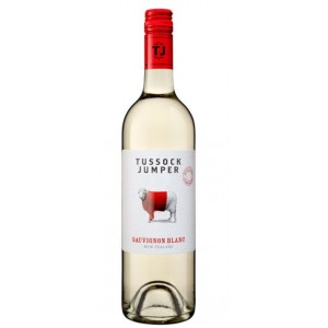 Вино Новой Зеландии Tussock Jumper Sauvignon Blanc / Тассэк Джампер Совиньон Блан, Бел, Сух, 0.75 л [3760204540111]