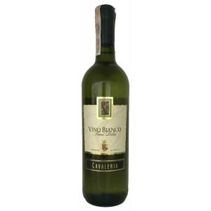 Вино Италии Cavaleria Vino Bianco Senza Secco / Кавалерия Вино Бьянко Секко, Бел, Сух, 0.75 л [8005890802804]