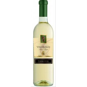 Вино Италии Cavaleria, Vino Bianco Senza-Semi Dolce / Кавалерия, Вино Бьянко Сенца Семи Дольче, Бел, П/Сл, 0.75 л [8005890802811]