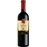 Вино Италии Cavaleria, Vino Rosso Senza-Semi Dolce / Кавалерия, Вино Россо Сенца Семи Дольче, Кр, П/Сл, 0.75 л [8005890802798]