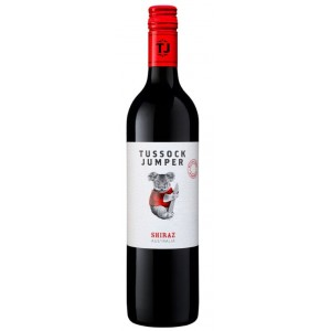 Вино Австралии Tussock Jumper Shiraz / Тассэк Джамер Шираз, Кр, Сух, 0.75 л [3760204540135]