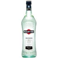 Вермут Италии Martini Bianco, 15%, Бел, Сл, 1.0 л [5010677925006]