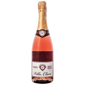 Вино игристое Испании Villa Clara Cava Brut Rose / Вилла Клара Кава Брют Розе, Роз, Сух, 0.75 л [8421414319137]