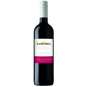 Вино Чили  Vina Zamporia, Cabernet Sauvignon, Valle Central DO, 13.0%, Красное, Сухое, 0.75 л [4006542040241]