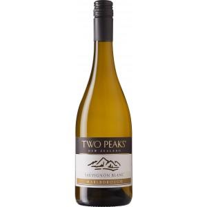 Вино Новой Зеландии Two Peaks Sauvignon Blanc, Malborough, 12.0%, Белое, Сухое, 0.75 л [4006542041576]
