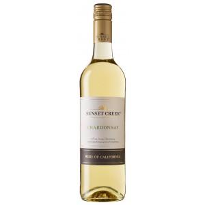 Вино США  Sunset Creek Chardonnay, California, 12.5%, Белое, Сухое, 0.75 л [4006542062809]