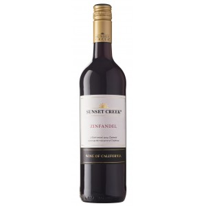 Вино США Sunset Creek Zinfandel, California, 13.5%, Красное, Сухое