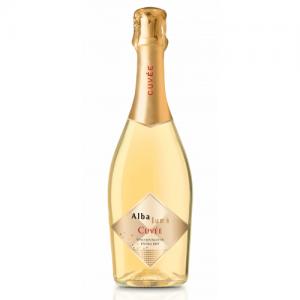 Вино игристое Италии Alba Luna Cuvee Spumante Extra Dry / Альба Луна Кюве Спуманте Экстра Драй, Бел, Сух, 0.75 л [8002550505808]