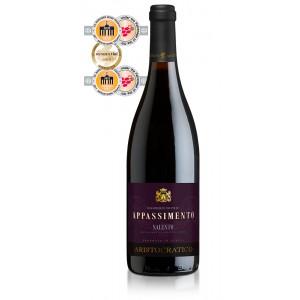 Вино Италии Aristocratico Rosso Appassimento Salento / Аристократико Россо Аппассименто Саленто, Кр, Сух, 0,75 л [8003625079316]