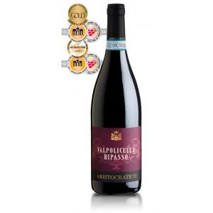 Вино Италии Aristocratico Valpolicella Ripasso / Аристократико Вальполичелла Рипассо, Кр, Сух, 0,75 л [8003625033103]