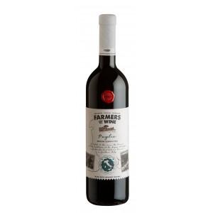 Вино Италии Farmers Of Wine Rosso Puglia Biologico / Фармерс Оф Вайн Россо Апулия Биолоджико, Кр, Сух, 0,75 л [8003625079552]