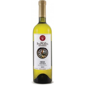 Вино Грузии Khareba Цицка , белое, сухое, 0.75 л, 12% [4860001194032]