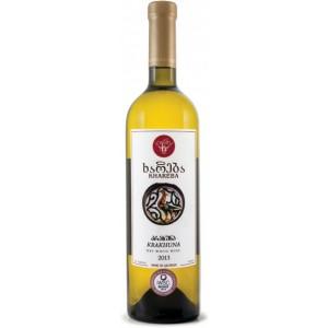 Вино Грузии Khareba Крахуна, белое, сухое, 0.75 л, 12% [4860001194056]