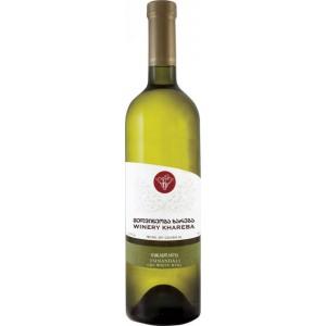 Вино Грузии Khareba Tsinandali, белое, сухое, 0.75 л, 12.5% [4860001193882]