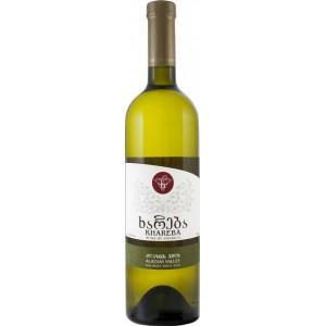 Вино Грузии Khareba Alazani Valley, белое, полусладкое, 0.75 л, 10.5% [4860001194193]