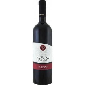 Вино Грузии Khareba Alazani Valley, красное, полусладкое, 0.75 л, 12,5% [4860001194100]