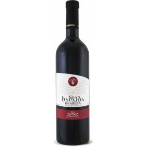 Вино Грузии Khareba Мукузани, красное, сухое, 0.75 л, 13% [4860001194254]