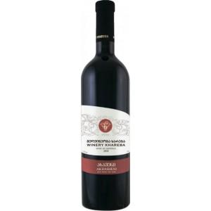 Вино Грузии Winery Khareba Akhasheni, красное, полусладкое, 0.75 л, 12.5% [4860001193325]