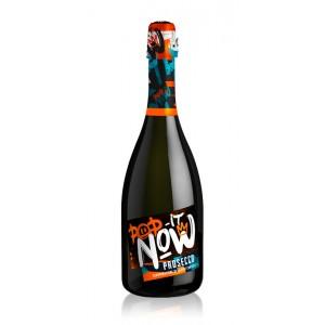 Вино игристое Италии Pop It Now Prosecco Spumante Brut / Поп Ит Нав Просекко Спуманте Брют, Бех, Сух, 0,75 л [8003625014089]