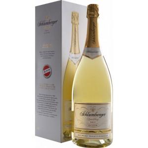 Вино игристое Австрии Schlumberger Klassik / Шлюмберже Классик, Бел., Брют, 11,5 % 1.5 л [90057625]
