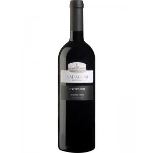 Вино Грузии Бадагони Саперави, Кр, Сух, 0.75 л 12% [4860006040310]
