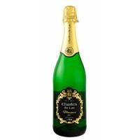 Вино игристое Бельгии Charles du Lac Brut / Шарль дю Лак Брют, белое, брют, 8.4%, 0.75 л [5414145051622]