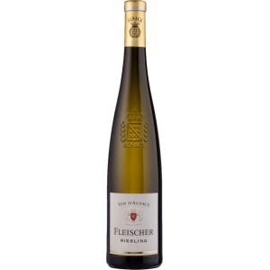Вино Франции Fleischer Riesling, Alsace / Фляйшер Рислинг, Эльзас, белое, полусухое, 12%, 0.75 л [3183520703204]