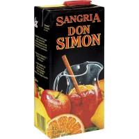 Вино Испании Don Simon Sangria /тетрабрик /, 11%, Кр, Сл, 1 л [8410261151106]