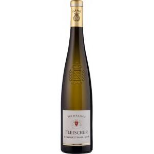 Вино Франции Fleischer Gewurtztraminer, Alsace / Фляйшер Гевюртраминер, Эльзас, белое, полусладкое, 13%, 0.75 л [3183520702986]