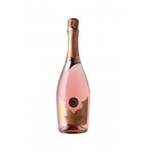 Вино игристое Италии Ca' Belli Prosecco Rose Extra Dry Millesimato, Veneto DOC , 11.0%, Бел, Сух, 0.75 л [8003625021001]